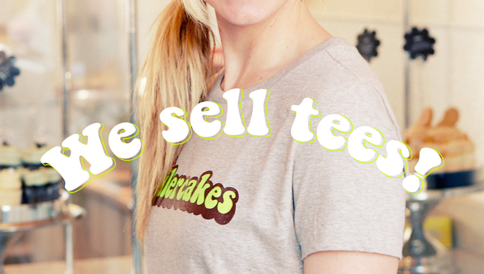 We sell tees!
